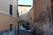 В переулках Трастевере / Италия