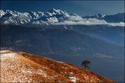 Горы за облаками / Грузия
