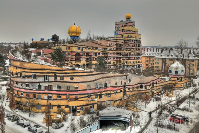 Лесная спираль Хунтертвассера / Германия