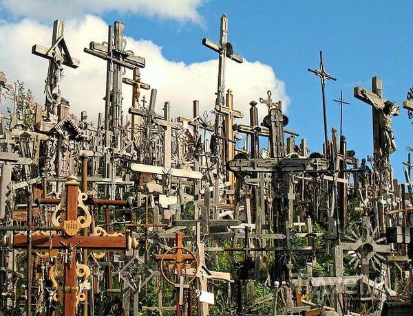 Распятия на Горе Крестов в Шяуляе / Литва