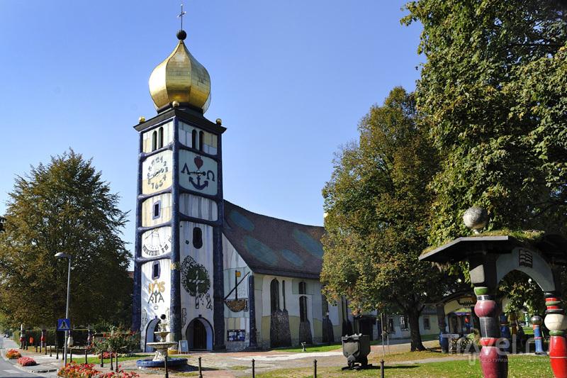 Церковь Святой Варвары в Бернбахе / Австрия