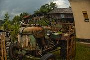 Старый трактор / Сербия