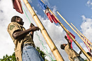 Поднятие флагов / Вануату