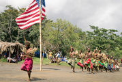 Традиционно одетые жители / Вануату