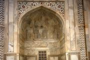 Рисунок на мраморе / Индия