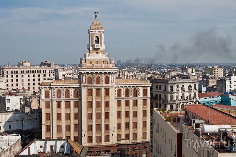 Национализированное здание Bacardi Building в Гаване, Куба / Фото с Кубы