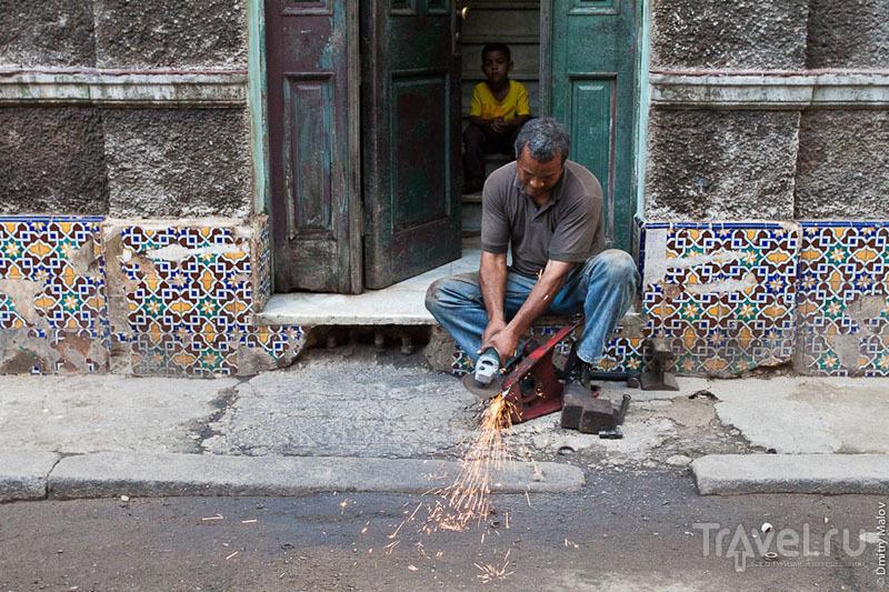 Житель Гаваны, Куба / Фото с Кубы