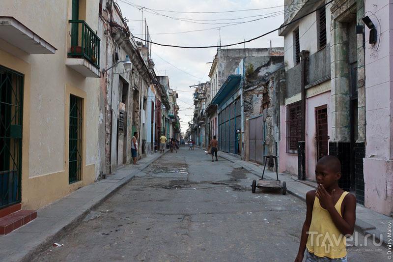 На улице Гаваны, Куба / Фото с Кубы