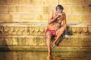Помыть лицо / Индия