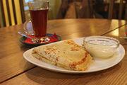 Блин с сыром и грибами / Эстония