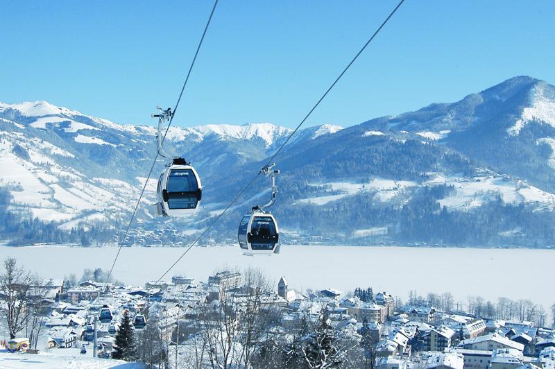 City Express в хорошую погоду, Целль-ам-Зее / Фото из Австрии