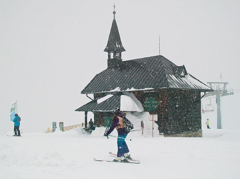 Часовня на вершине Шмиттенхоэ / Фото из Австрии