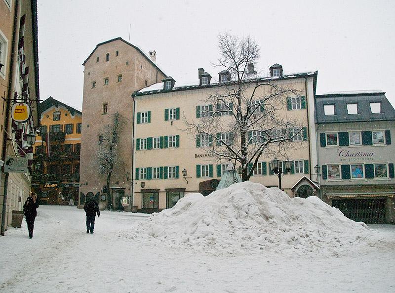 Центральная площадь в Целль-ам-Зее / Фото из Австрии