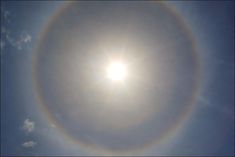 Гало. Оптический феномен  / Фото из Кабо-Верде
