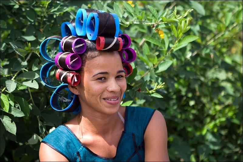 Жительница острова Фогу, Кабо-Верде  / Фото из Кабо-Верде