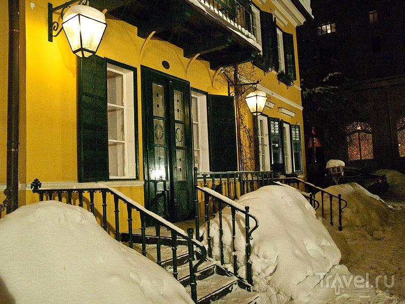 Ресторан в Бадгастайне / Фото из Австрии