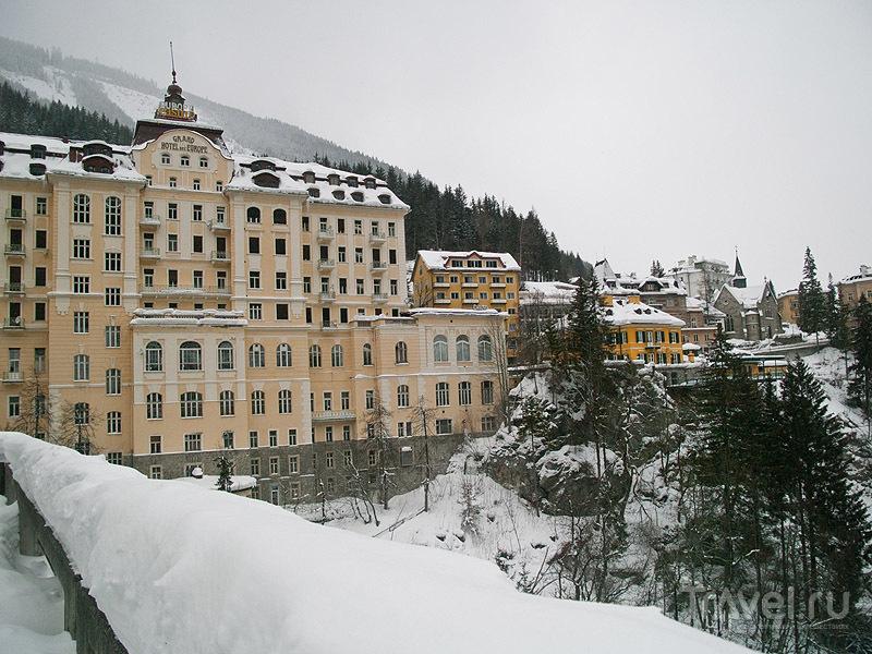 Самый большой отель в Бадгастайне / Фото из Австрии