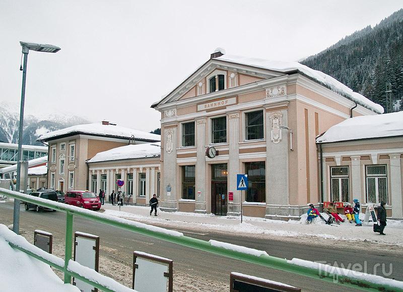 Железнодорожная станция Бадгастайна / Фото из Австрии