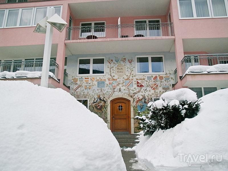 Расписной домик в Бадгастайне / Фото из Австрии