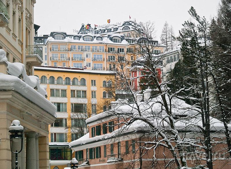 Разноцветный и многоэтажный Бадгастайн / Фото из Австрии