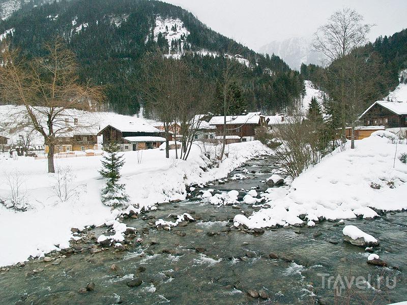 Речка в долине Гастайн / Фото из Австрии