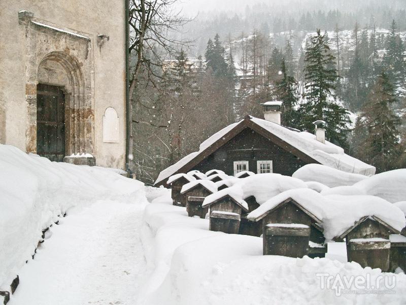 Кладбище возле тамплиерской церкви, Бадгастайн / Фото из Австрии