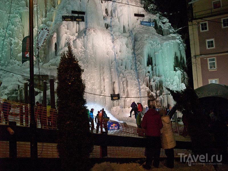 Площадка для ледолазания, Бадгастайн / Фото из Австрии