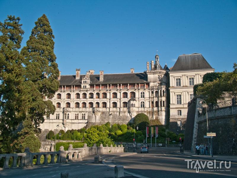 Замок в Блуа / Фото из Франции