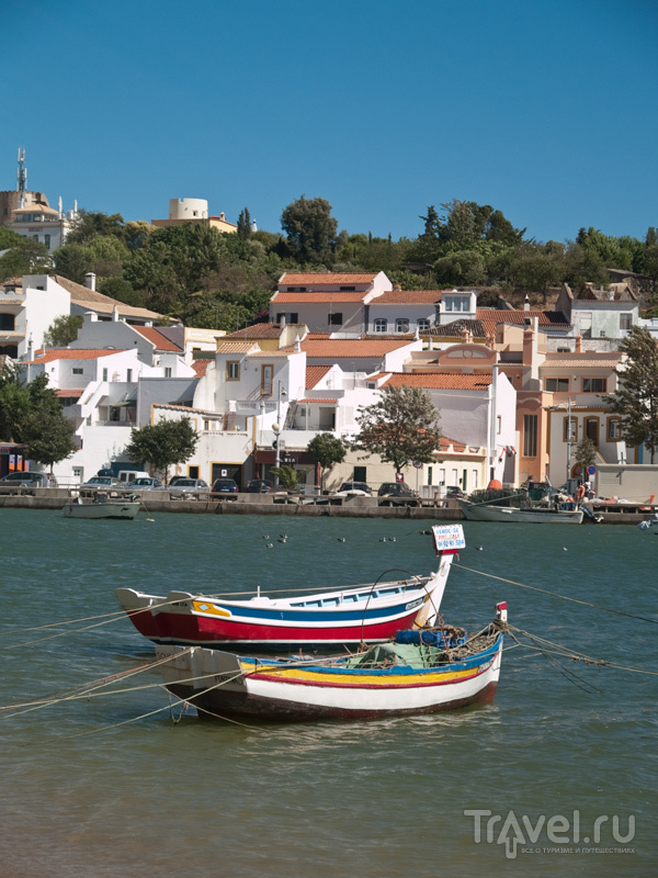 Лодочки на реке Араде, Феррагуду / Фото из Португалии