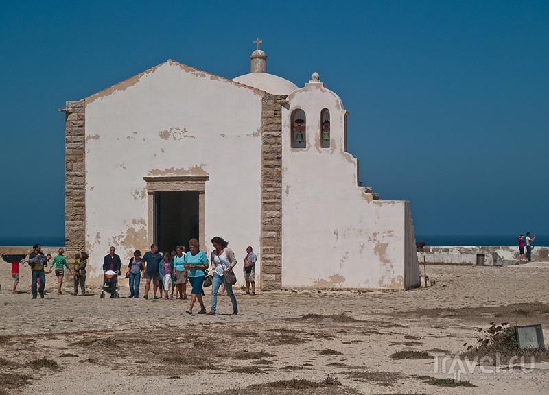 Церковь Nossa Senhora da Graca, форт в Сагрише / Фото из Португалии