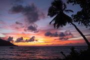 Закат на Маэ / Сейшелы