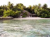 Бунгало и пляж / Мальдивы