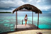 Вход в океан / Мальдивы