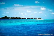 Вид на остров / Мальдивы