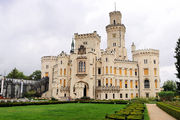 Замок снаружи / Чехия