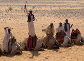Нубийцы на верблюдах / Судан