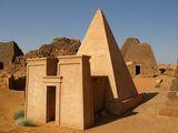 Восстановленная пирамида / Судан