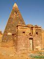 """""""Вход"""" в пирамиду / Судан"""