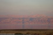 Закат на Мертвом море / Израиль