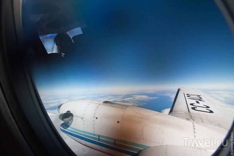 Земля с высоты 10 километров / Фото из Антарктики