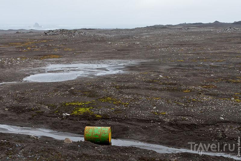 Окрестности аэропорта Вилья-лас-Эстрельяс / Фото из Антарктики