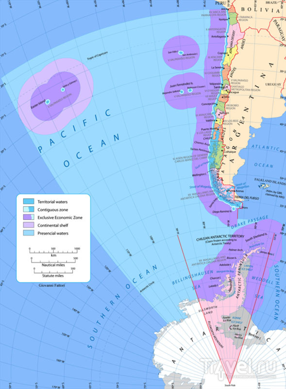 """""""Чилийский"""" сектор в Антарктиде / Фото из Антарктики"""