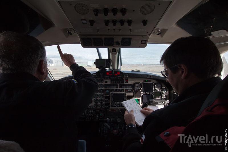 Кабина пилотов / Фото из Антарктики