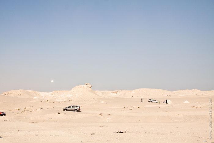 Пустыня в Бахрейне / Фото из Бахрейна