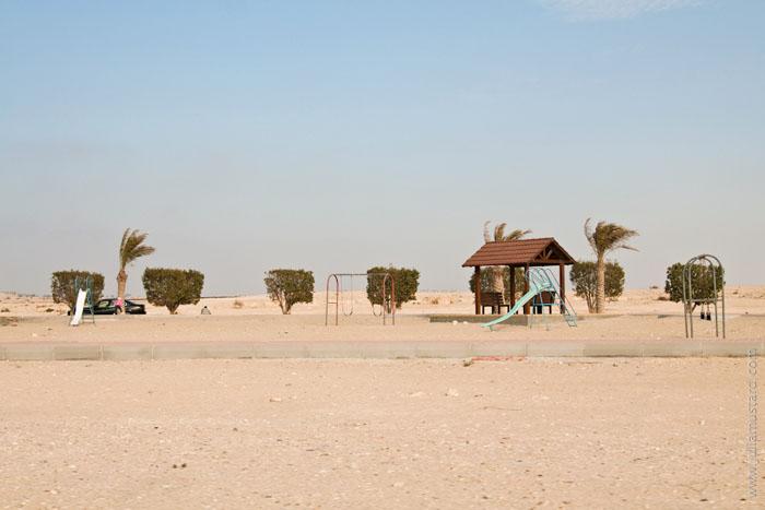 Детская площадка в Бахрейне / Фото из Бахрейна