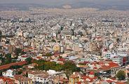 Вид на город / Греция