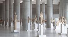 Зал Нового музея Акрополя / Греция