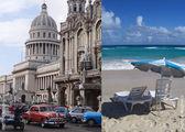 Город и пляж / Куба