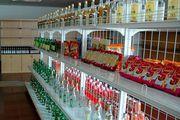 Витрина с алкоголем / Корея - КНДР