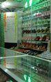 Витрины с обувью / Корея - КНДР